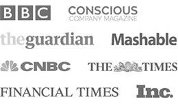 As seen in BBC, Conscious Capital Magazine, The Guardian, Mashable, CNBC, The Times, Financial Times, Inc.