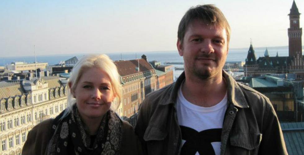Image of Corinne and Dan