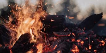 Image of an outdoor fire