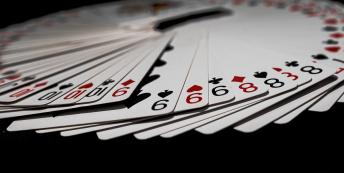 Image of deck of cards fanned out