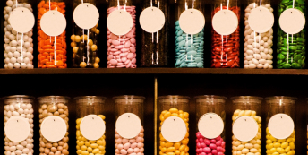 Sweets in a sweet shop